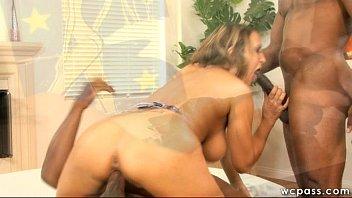 EVIL ANGEL Lisa Ann MILF Interracial DP + Ass Fuck 3Way Hot Sex