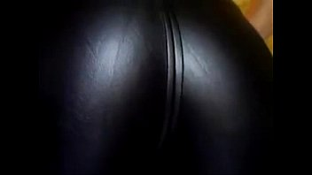 Ramona Augustin get's her leather pants butt fucked